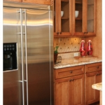 ss fridge