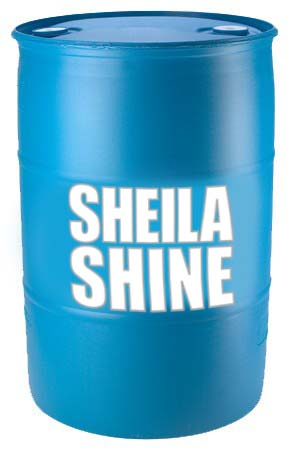 Sheila Shine 55 gallon drum