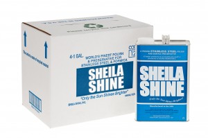 Sheila Shine - 1 Gallon Can Case