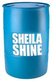 Sheila Shine 55 gallon drum