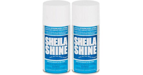 SheilaShineCleanerPolish-10ozAerosol-2 Pack