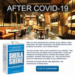 AFTER COVID-19 - SHEILA SHINE